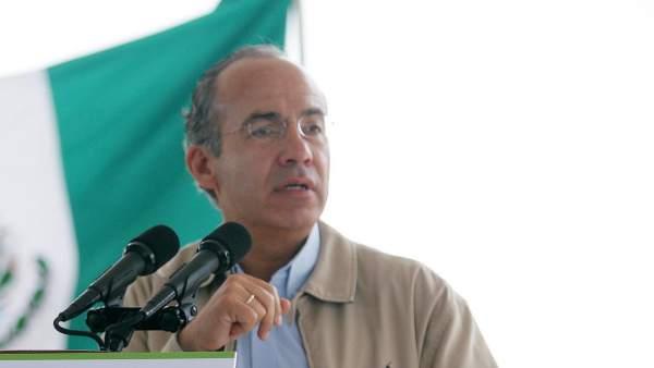 Felipe Calderón.