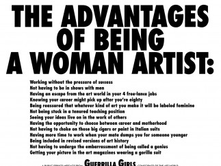 The Advantages of Being A Woman Artist, 1988