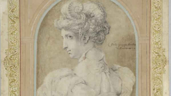 ´Bust of a Woman with an Elaborate Coiffure´