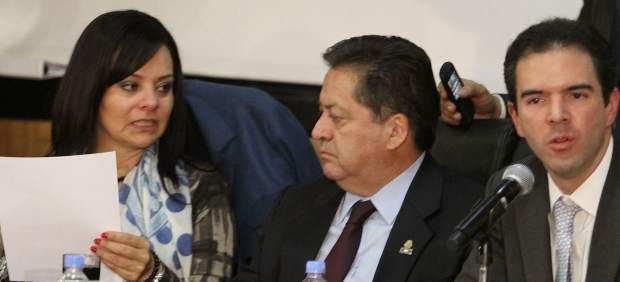 La diputada Nuvia Magdalena Mayorga