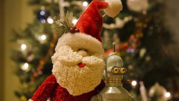 Papa Noel y sus juguetes...
