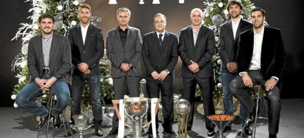 Mensaje navideño del Real Madrid