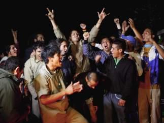 Liberan a retenidos en toma de protesta de EPN