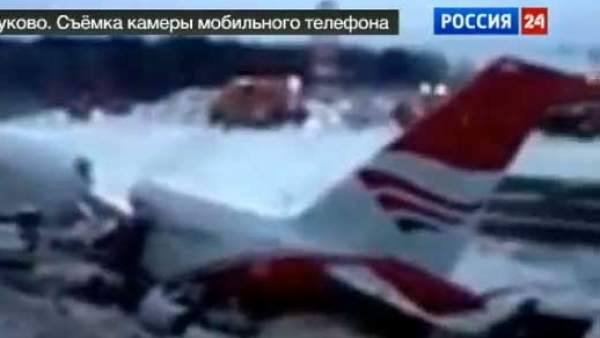 Accidente de avión en Rusia