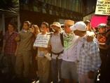 Marcha por los 14 detenidos.