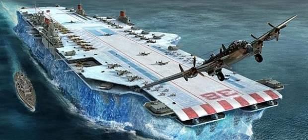 Portaaviones de hielo