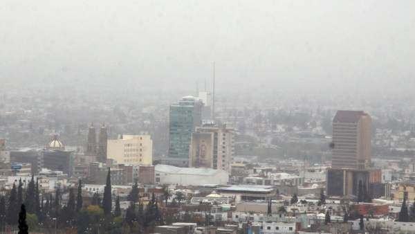 Nieve en Chihuahua