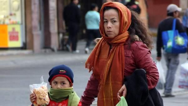 Frío en Pachuca