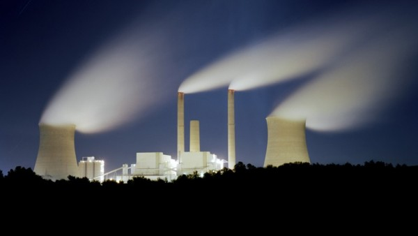 ´Coal-Fired Power Plant (Removing Mountains)´