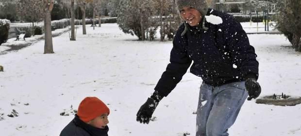 Juegos en la nieve