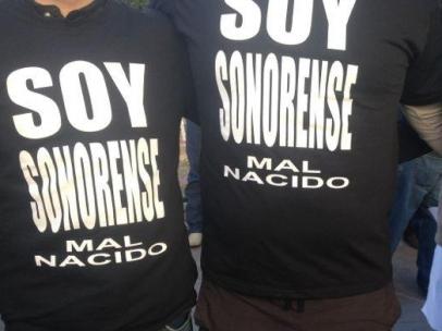 Camisetas de los 'malnacidos'