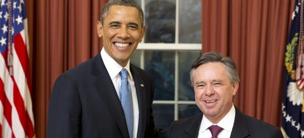 Obama y Medina