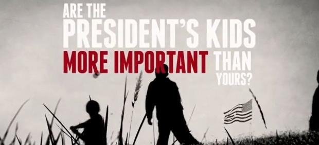 La NRA critica a los hijos de Obama