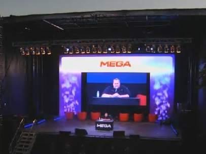 Kim Dotcom presenta Mega