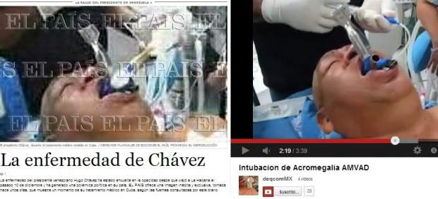 La portada de ´El País´ y el vídeo del ´falso Chávez´