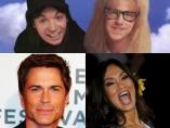 Protagonistas de ´El mundo de Wayne´