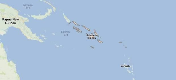 Alerta de tsunami en las Islas Salomon