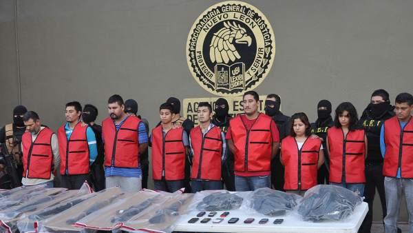 Detenidos en Nuevo León