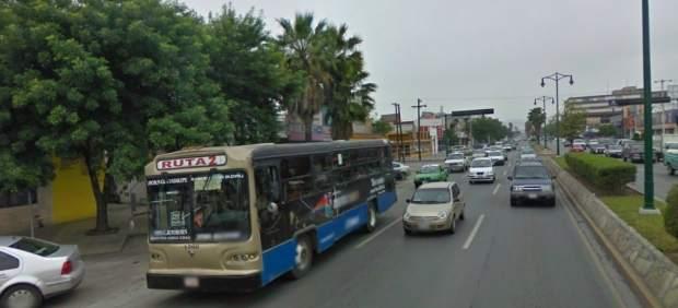 Avenida Francisco I. Madero en Monterrey.