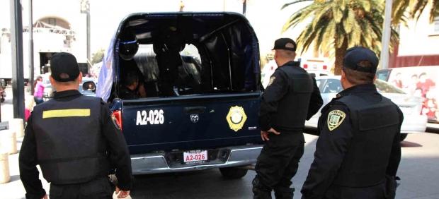 Policía en la Ciudad de México
