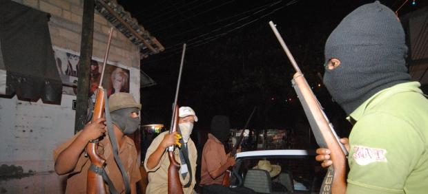 Grupos de autodefensa en Guerrero
