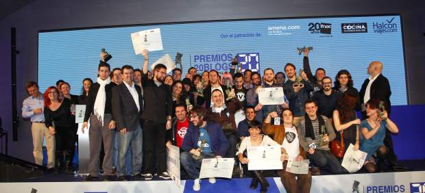 Los ganadores de los Premios 20Blogs 2013