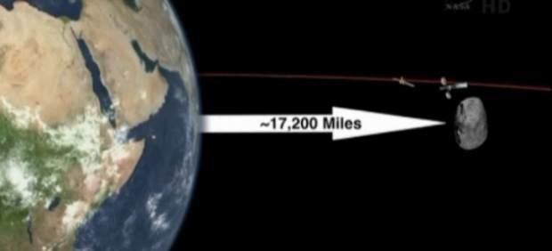 El asteroide 2012 DA14 ´roza´ la Tierra