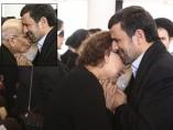 Ahmadineyad en aprietos por consolar a la madre de Chávez