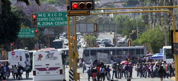 Normalistas de Oaxaca