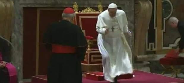 Tropezón Papal