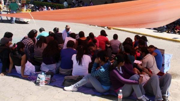 Protestas de maestros en Oaxaca