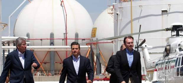Peña Nieto en el aniversario de la expropiación de Pemex