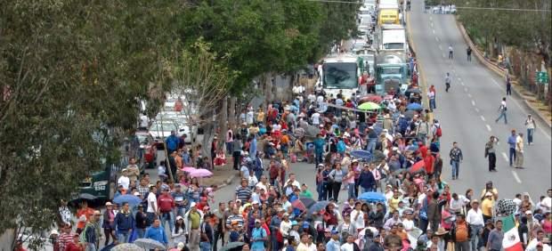 Protesta en Guerrero