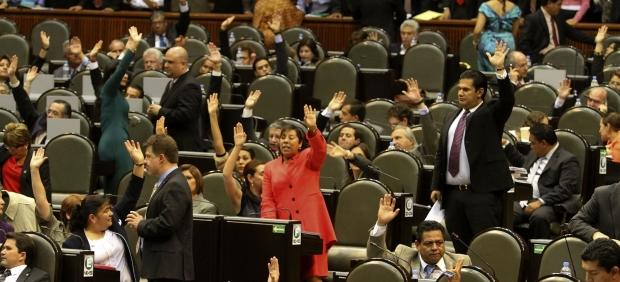 Voto en el Senado a la Ley de Amparo