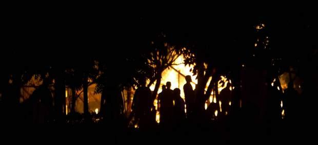 Incendio Cumbre Tajín