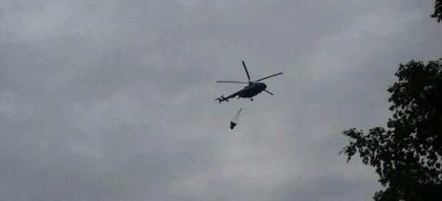 Helicóptero- ayuda