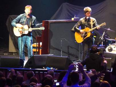Noel Gallagher y Damon Albarn