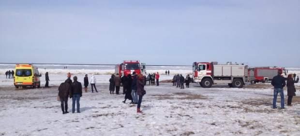 Rescate en Letonia