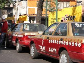 Taxis en la Ciudad de México