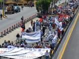 Marcha en la Chilpancingo
