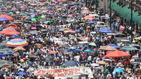 Marcha Michoacán