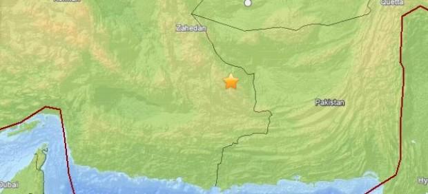 Terremoto en Irán