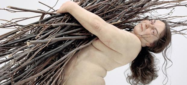 ´Woman with Sticks´ (2009)