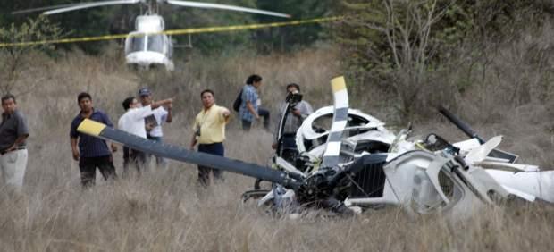Desplome ambulancia aérea