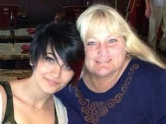 Paris Jackson y Debbie Rowe