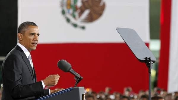 Barack Obama en México