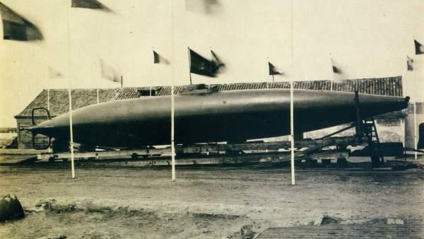 El submarino de Isaac Peral
