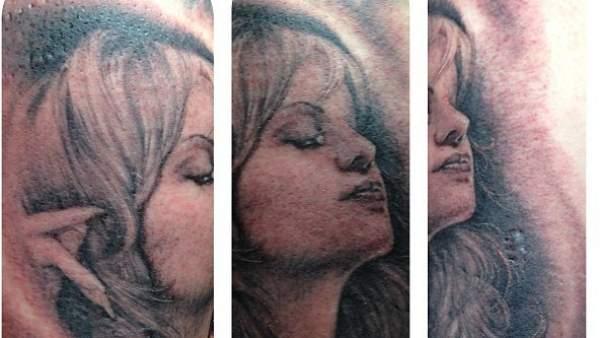 Jenni Rivera /tatuaje