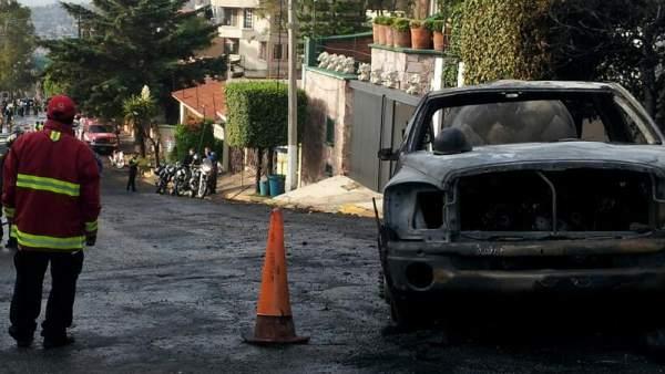 Explosión pipa en Naucalpan