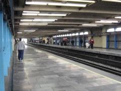 Estaci�n Puebla del metro